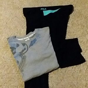 Fila t-shirt & joggers